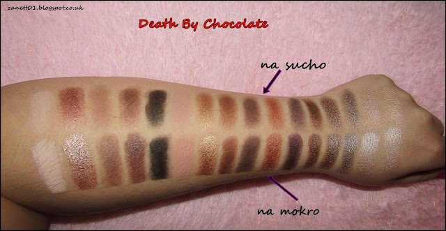 swatches death by chocolate