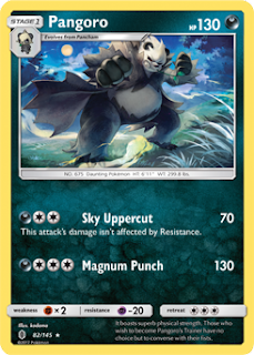 Pangoro Guardians Rising Pokemon Card