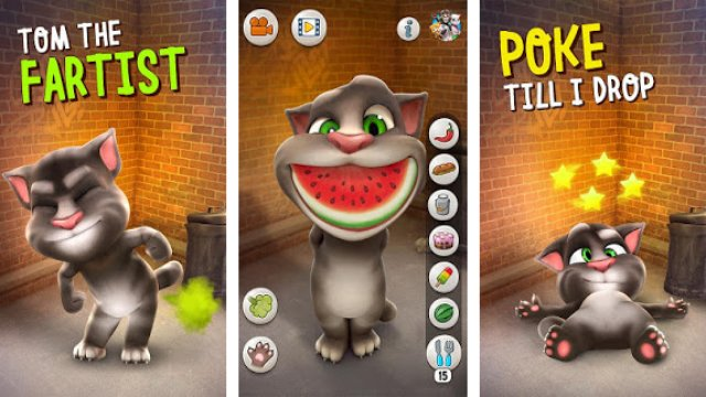 Talking Tom Cat - Aplikasi Android di Google Play