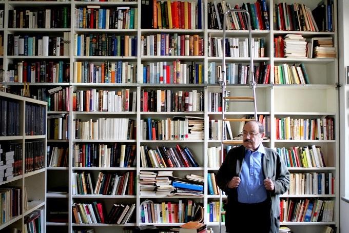 A quoi ressemble la bibliothèque d'un érudit
