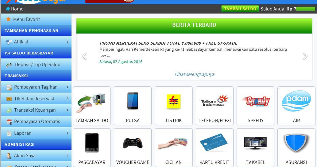 Produk Layanan dan Keuntungan Menjadi Member Bebasbayar ~ Info Bisnis Internet ...