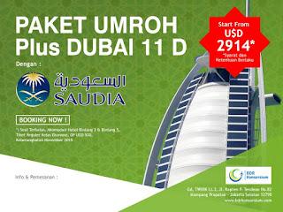 Paket Umroh Plus Dubai Desember 2015