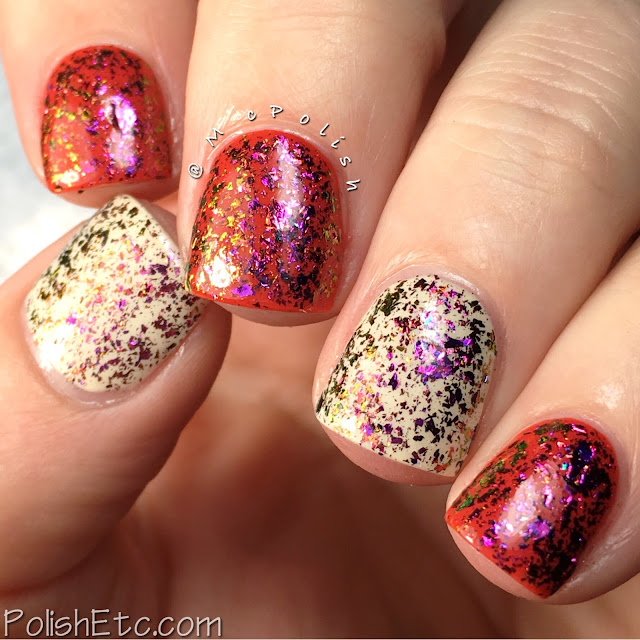 Glitter Daze - Flora Noxia Collection - McPolish - Blood Flower