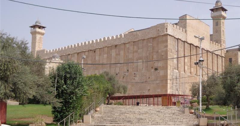 Israel Halangi Pekerjaan Pemeliharaan Masjid Hebron