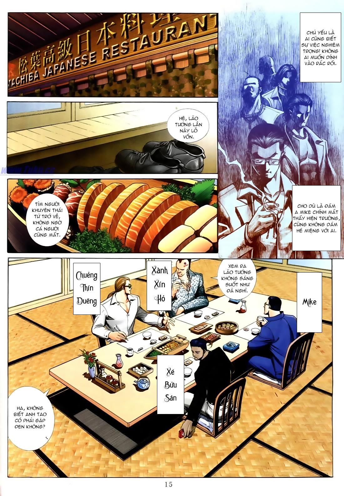 Người Trong Giang Hồ chapter 556: làm khó nam đẹp trai trang 9