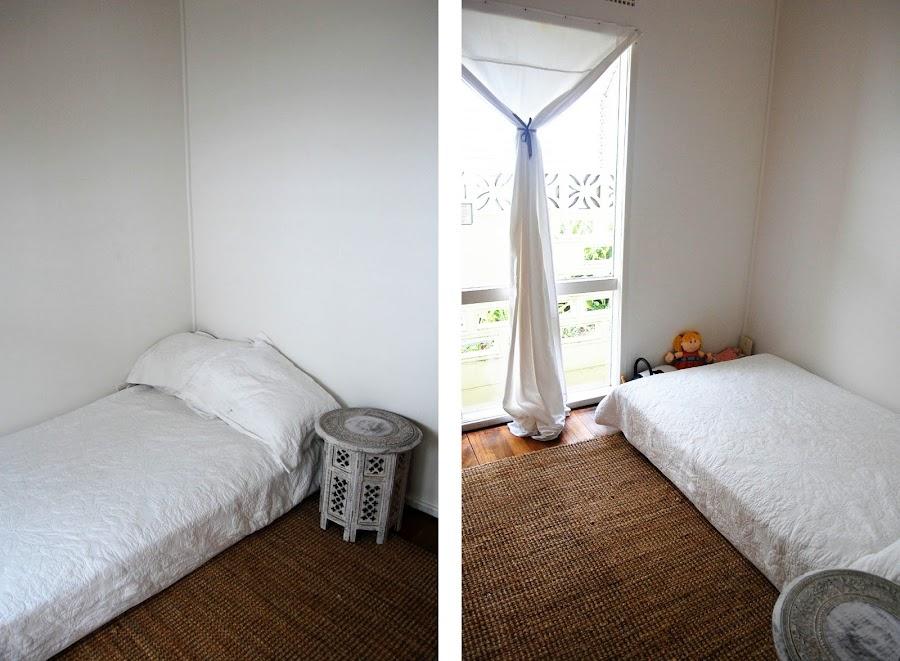 Antes y después de un dormitorio infantil