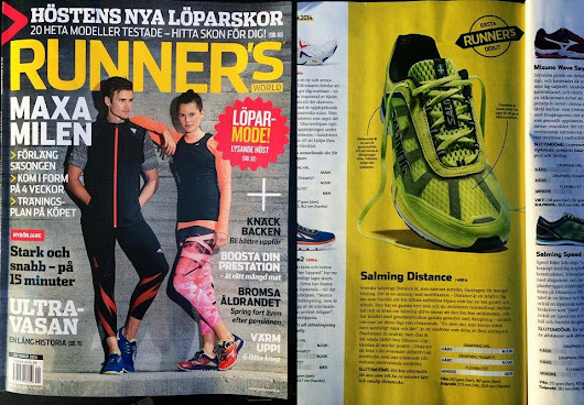 Salming Distance named best new Shoe!