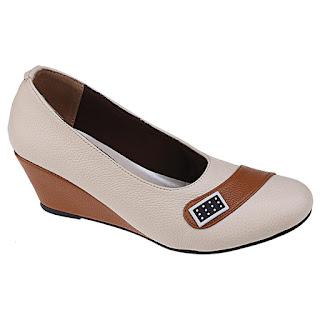 Sepatu Kerja Wanita Model Wedges SM 297