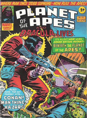 Marvel UK, Planet of the Apes #115, Beneath