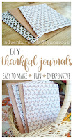 DIY Thankful Journals