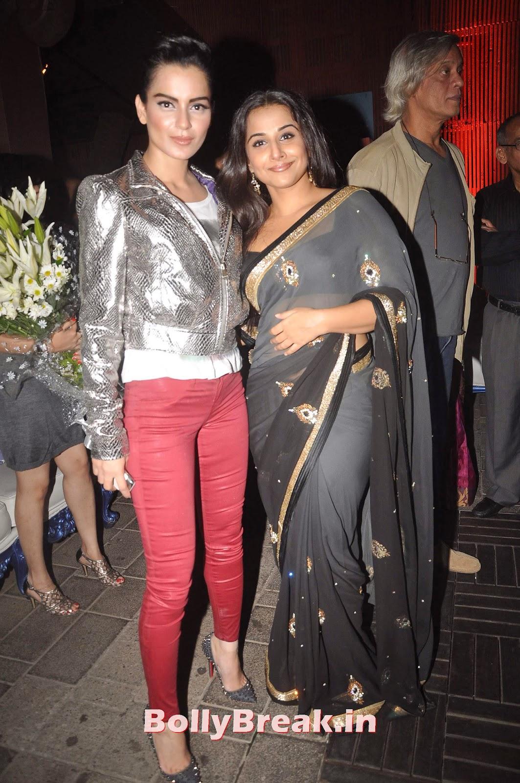 , Vidya Balan Sexy in Saree - Hot Hd Photos
