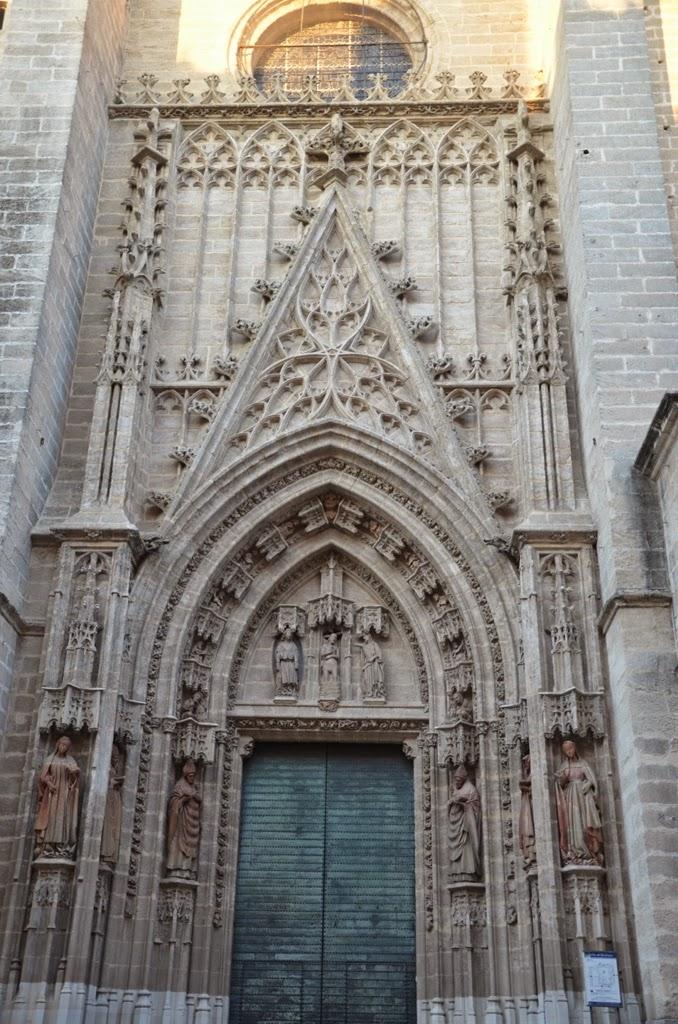 Puerta del Bautismo - Catedral - Sevilla
