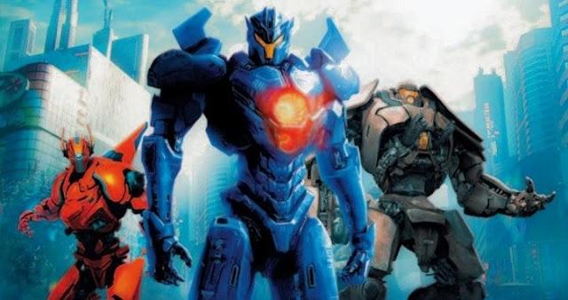 John Boyega y Jaegers de Pacific Rim: Uprising