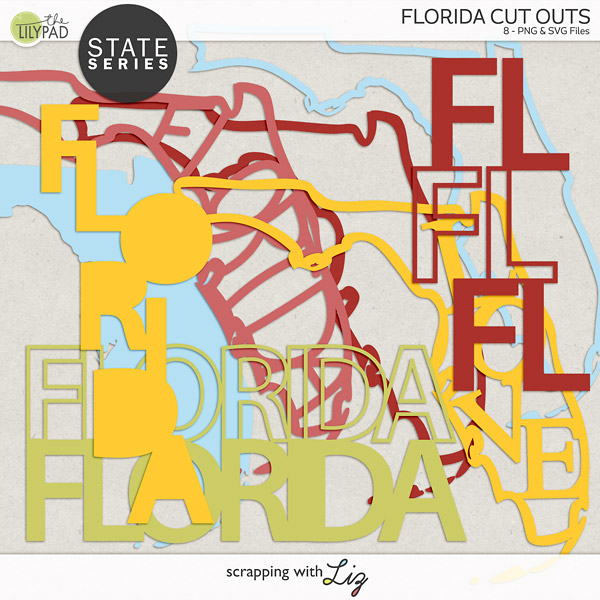 Florida Cut outs for creative projects.