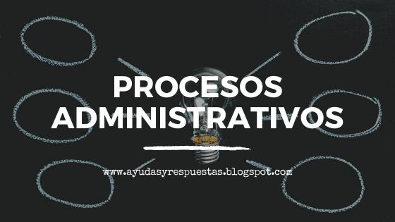 procesos administrativos, universidad a distancia