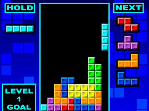 tetris classico da