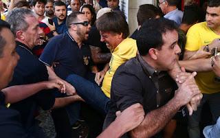 site policia mg - Jair Bolsonaro é vitima de atentado
