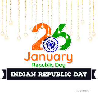India Republic day PNG image Greetings collection.