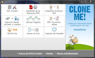 Crear y convertir documentos PDF a multiples formatos