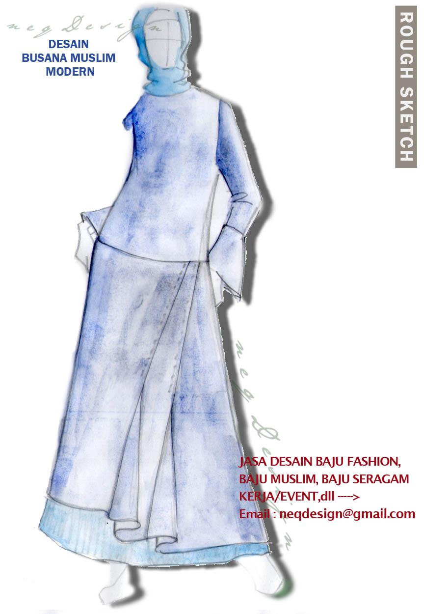 NeqDESIGN: Jasa Desain Baju Muslim