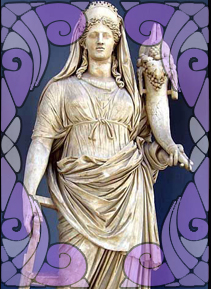 Statue of Demeter | Wicca, Magic, Witchcraft, Paganism