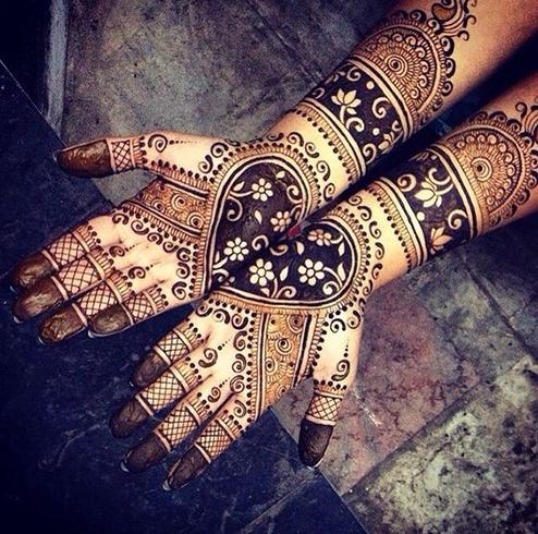 Summer Wedding Mehndi Designs For Hands