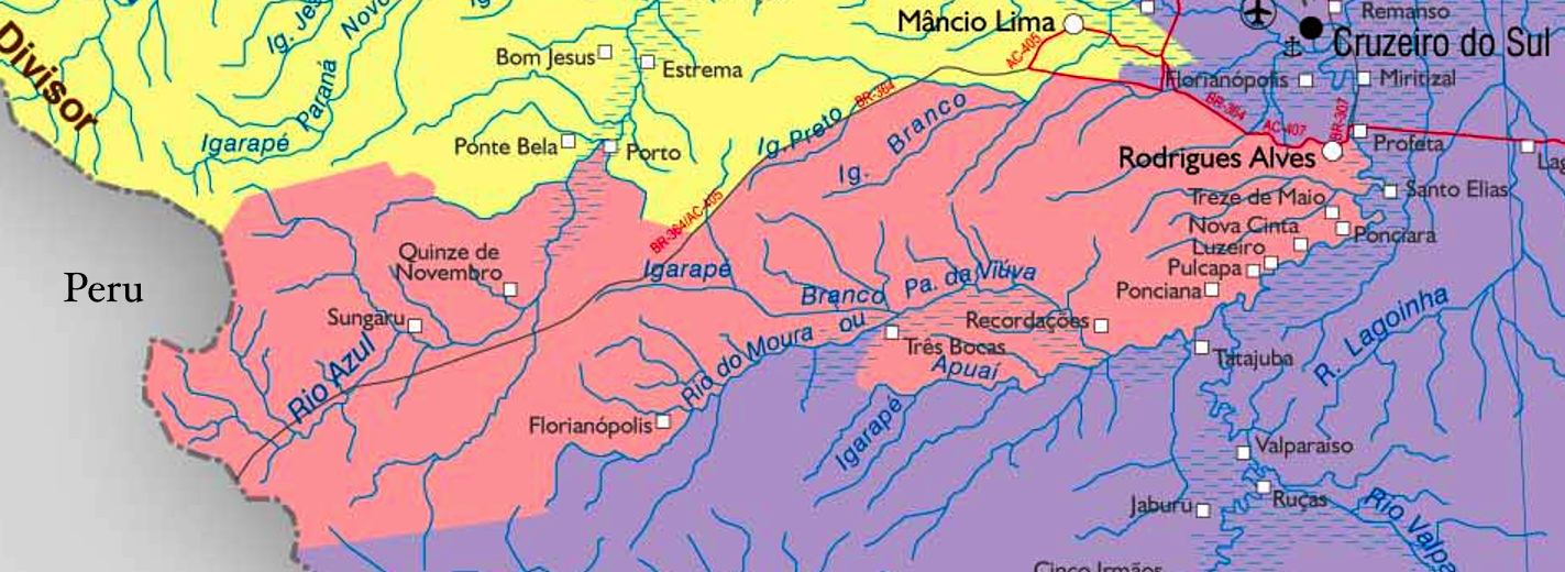Mapas do Estado do Acre