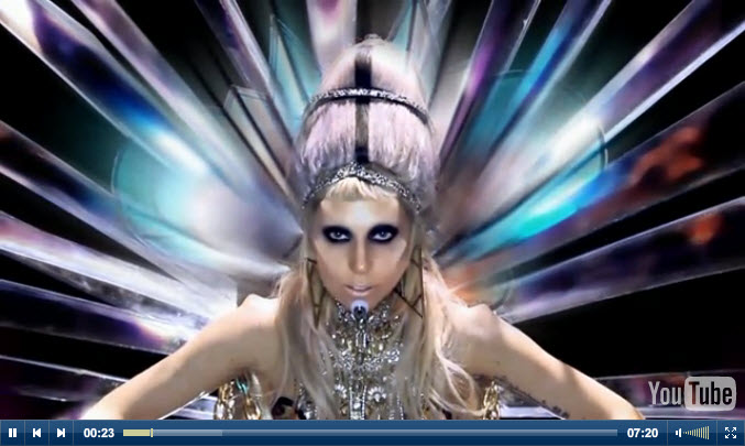 YouTube Music Videos for Born This Way by Lady Gaga