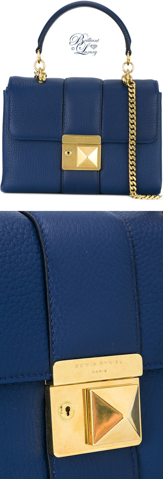Brilliant Luxury ♦ Sonja Rykiel Le Luco Flap Bag