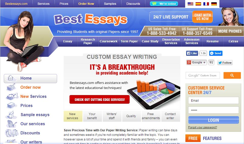 Ca.Bestessays.com review – Rated 9/5