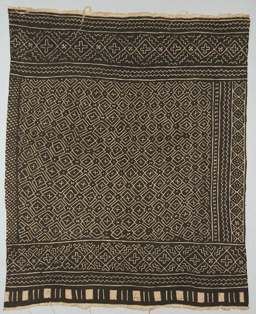 African textile, bogolanfini or mud cloth