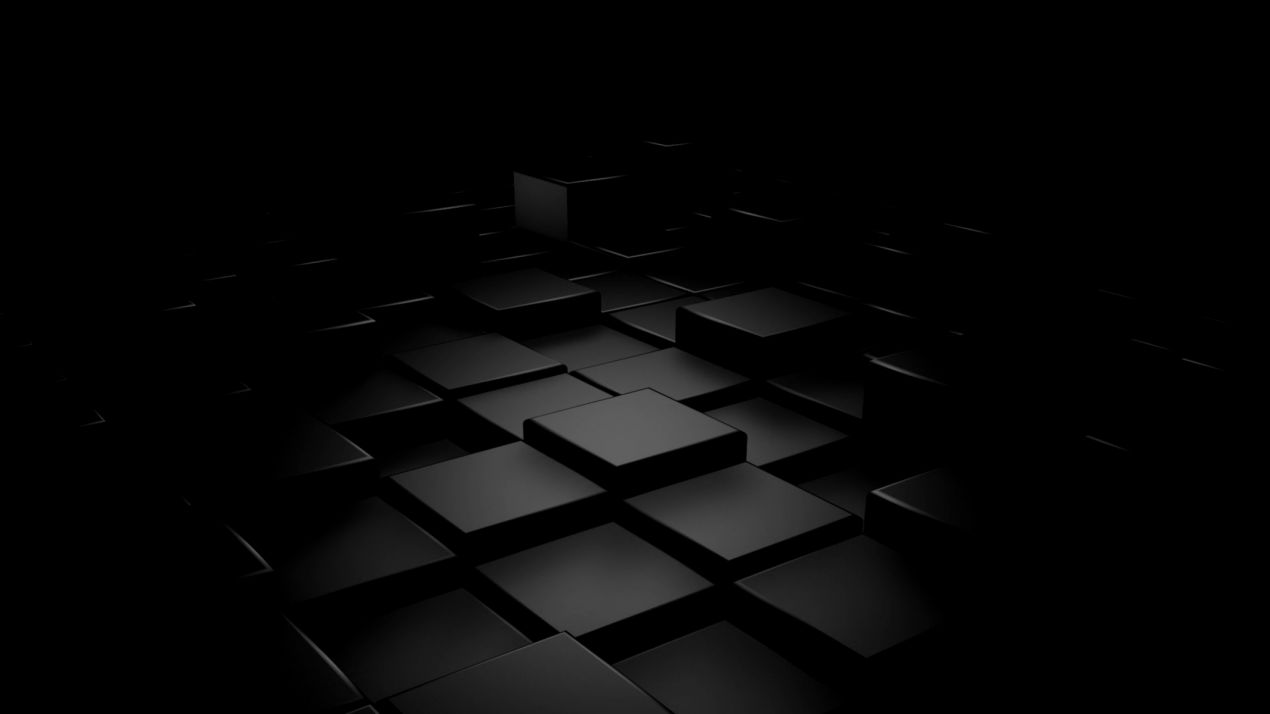 Wallpaper 3d Black Cube For Desktop Gandoss Wallpapers