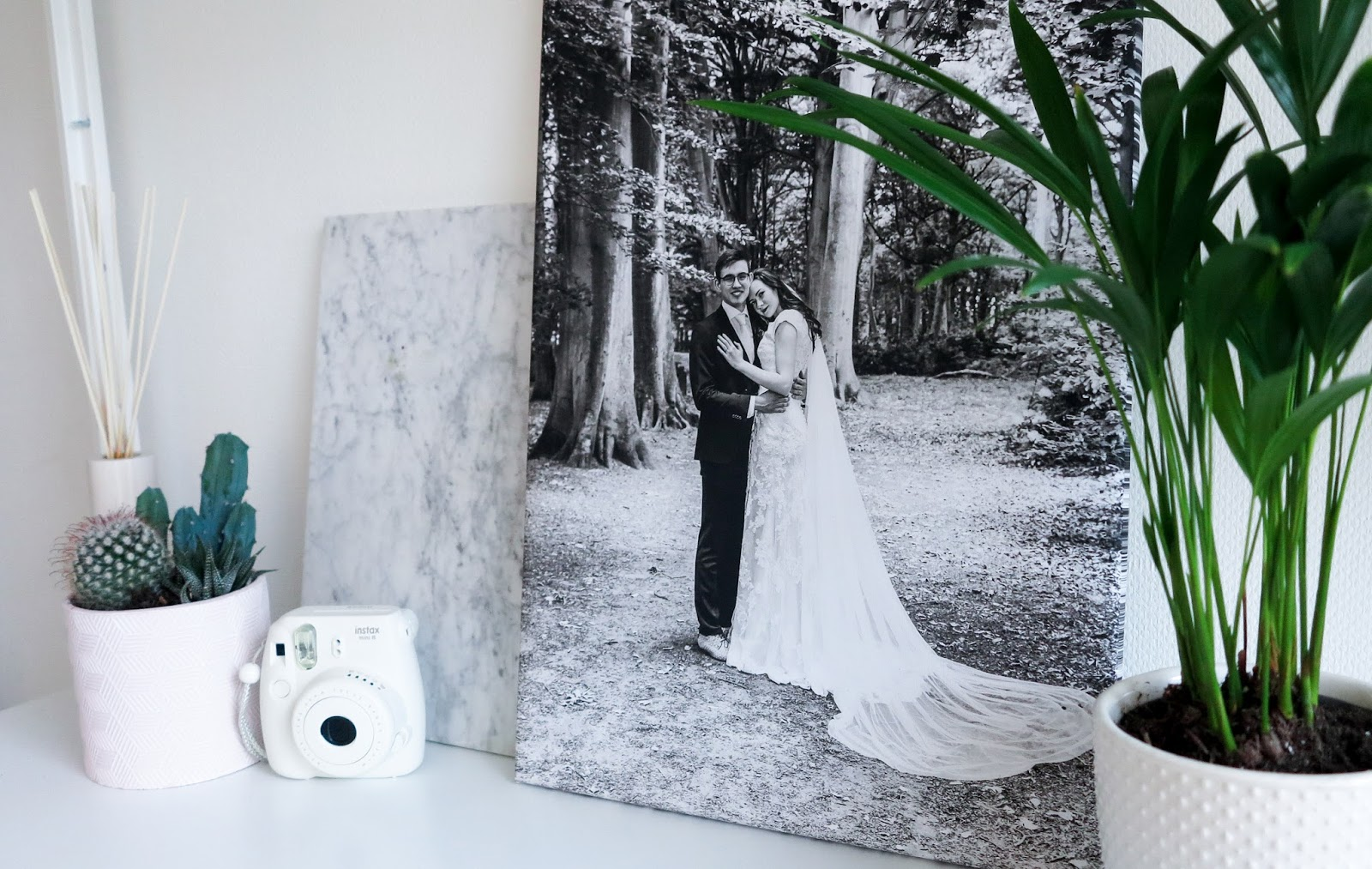 Trouwfoto op canvas CanvasCompany