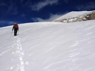 Boris spurt in Richtung Gipfel