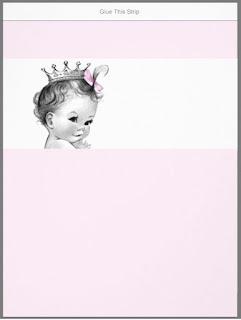 Etiquetas de Preciosa Bebé para Chocolates para Imprimir Gratis.