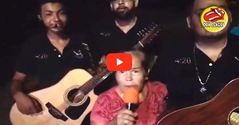 Conchita, la que durmió con un duende, recibió una serenata increíble