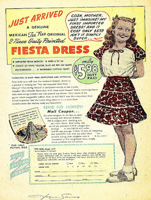Mexican Tee Nee Original Fiesta Dress