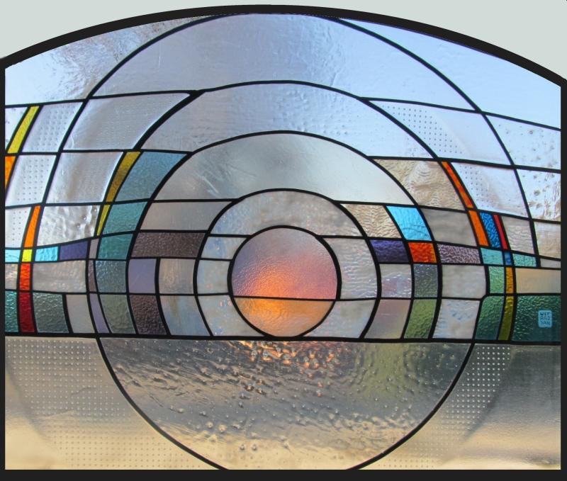 vitráž slunce