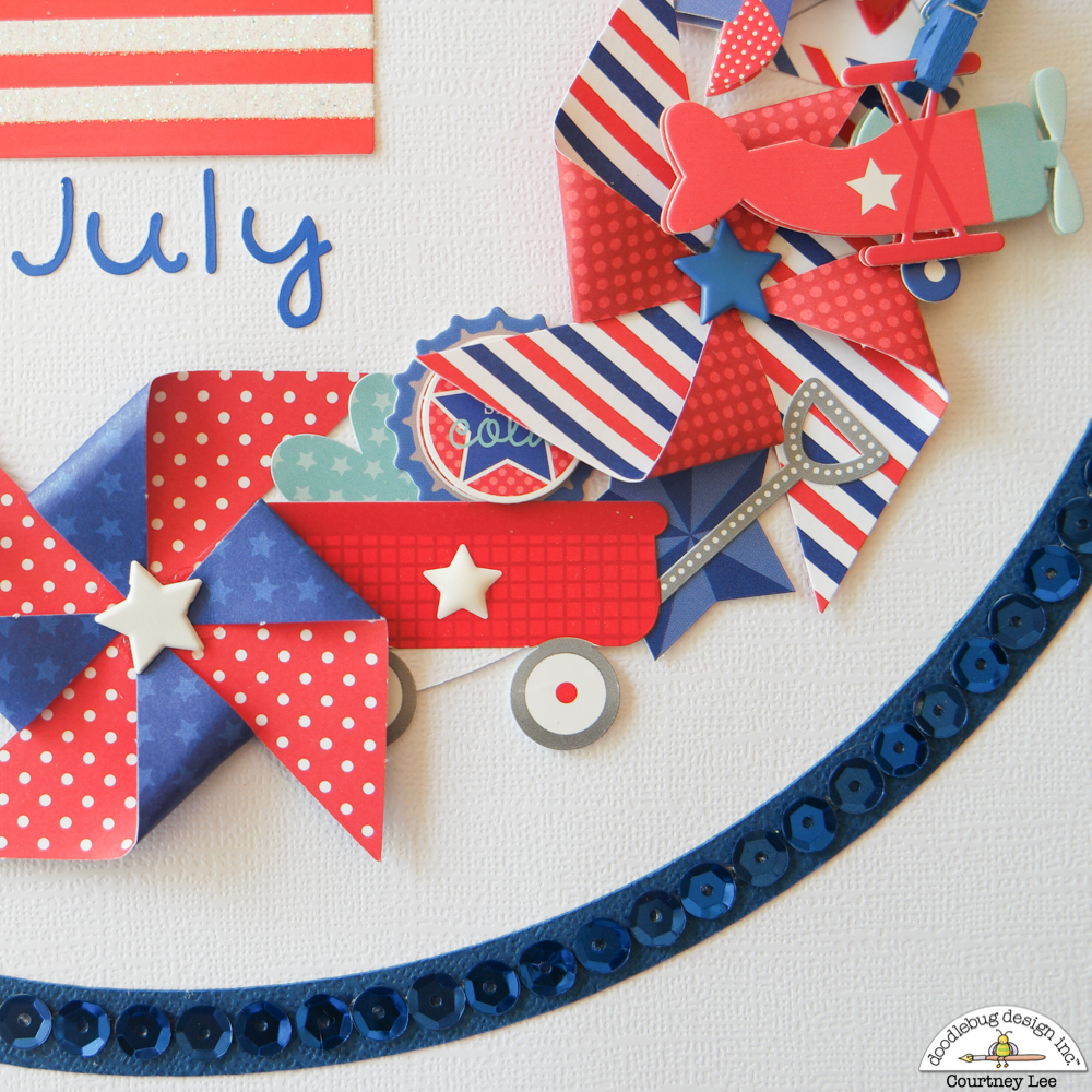 Doodlebug Design Inc Blog Mix Match Challenge 4th Of July Home Decor