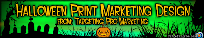 Halloween Holiday Print Design - Targeting Pro Marketing