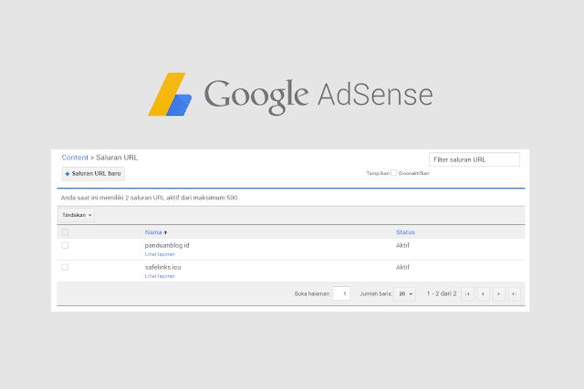 Cara Membuat Channel URL Google AdSense