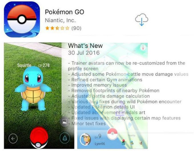 【  Pokémon Go 】迎來更新 多項功有增減強化