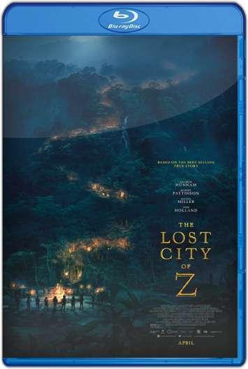 z la ciudad perdida 2016 hd 1080p y 720p latino portada