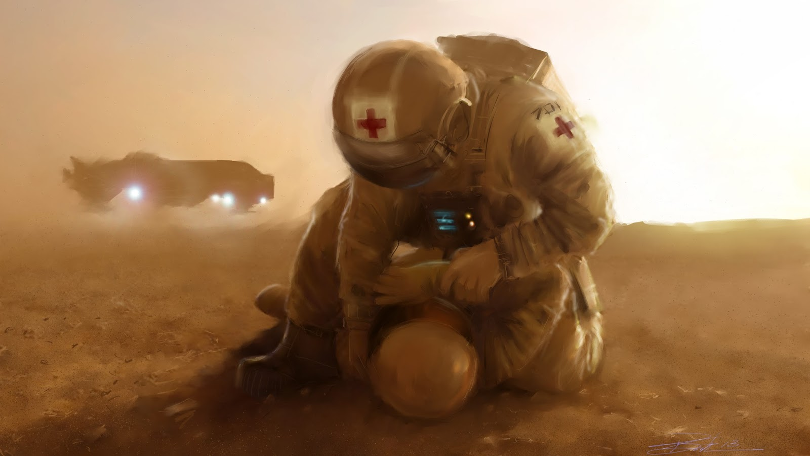 Mars medic by Phil Smith
