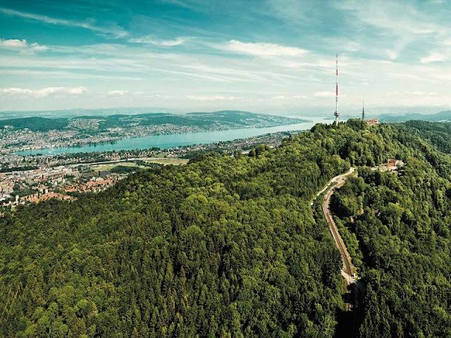 Montanha Uetliberg em Zurique
