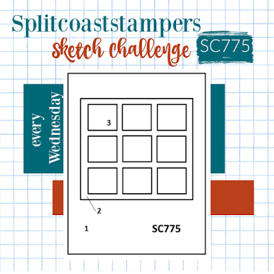 Splitcoaststampers Sketch Challenge 775