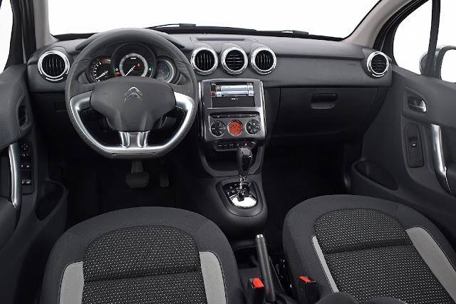 Citroen C3 2018 Automático - 6 marchas - interior