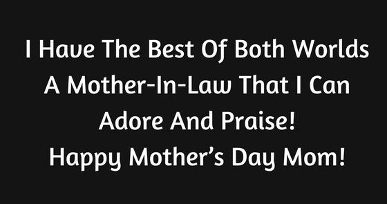 Happy Mother S Day Wishes From Son Daughter In Law 2019 Sms Quotes