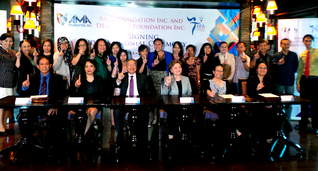 AMA Foundation renews partnership with DFA Ladies Foundation Inc. to support more scholars