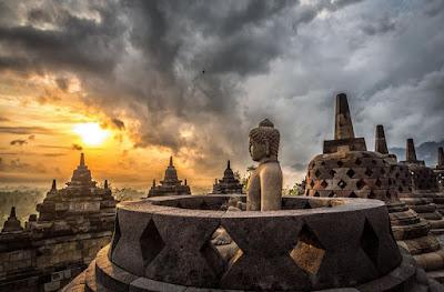 wisata liburan ke candi Borobudur